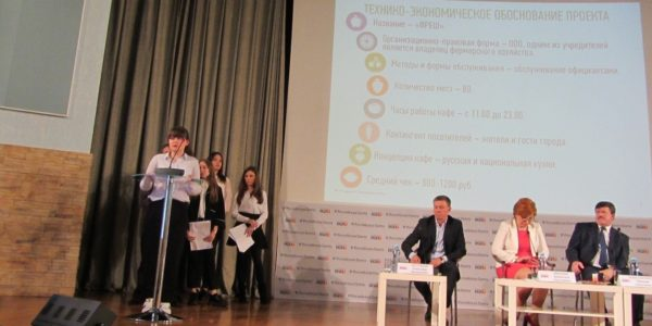 Презентация проекта студентами